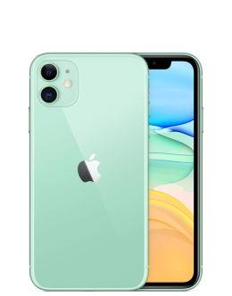 Зеленый Айфон 11 на фото