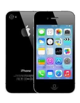 Фото iPhone 4s в черном цвете