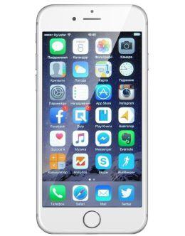 Фото iPhone 6s серебристого цвета (silver)