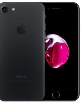 Матовый черный Айфон 7 на фото (black)