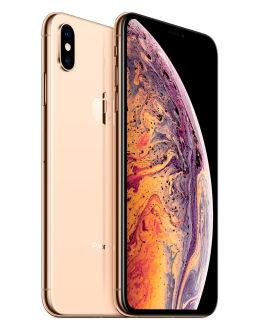 Золотой Айфон XS Max на фото (gold)