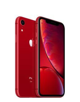 Красный Айфон XR на фото (red)