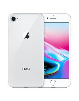 Белый Айфон 8 на фото (silver)