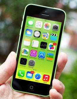 Айфон 5с в зеленом цвете (green)