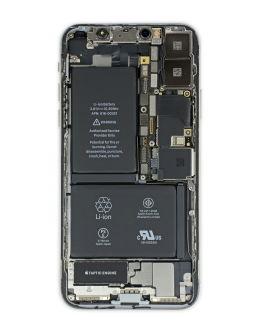 Как выглядит Айфон 10 внутри