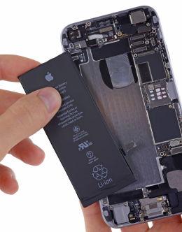 Айфон 7 в разобранном виде