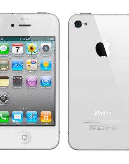 Фото Айфон 4s в белом цвете