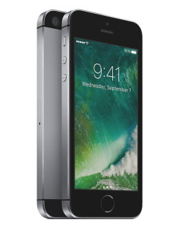 Черный Айфон 5s на фото (space grey)