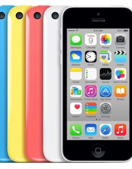 Все цвета iPhone 5c