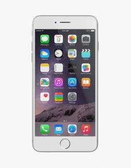 Серебристый iPhone 6 Plus (silver)