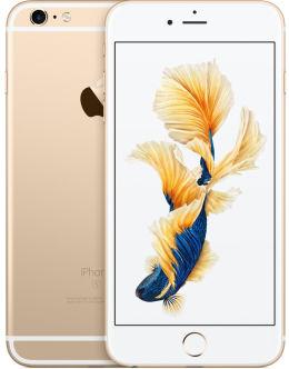Золотой Айфон 6s на фото (gold)