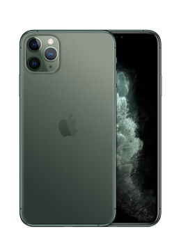 Зеленый Айфон 11 Про на фото (midnight green)