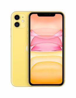 Фото Айфон 11 желтого цвета