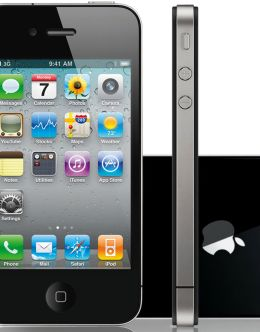 Фото iPhone в черном цвете