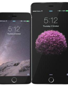 Сравнение iPhone 6 и 6 Plus на фото
