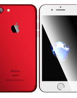 Красный Айфон 7 на фото (red)