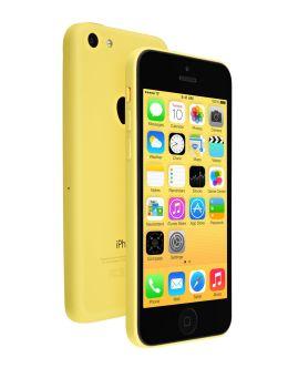 Фото желтого Айфон 5c (yellow)