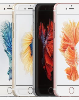 Все цвета Айфон 6s