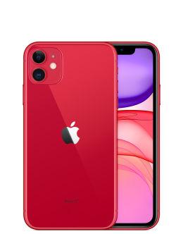 Фото Айфон 11 красного цвета